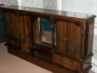 waterbed frame and headboard