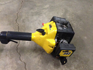 PRICE LOWERED   MCULLOUGH EAGER BEAVER 282 GAS ENGINE WEEDEATER