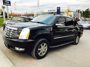 2007 CADILLAC ESCALADE EXT BLACK ON BLACK,NAVI,LOADED!!