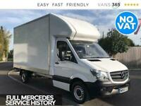 2015 Mercedes-Benz Sprinter Sprinter 313 2.1Cdi 130bhp LWB Luton with Tail Lift