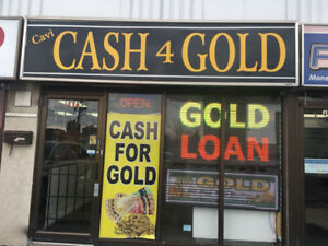 Get instant cash for your gold and other jewelry !!