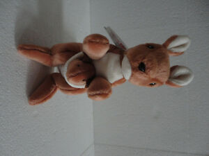 TY POUCH The KANGAROO MOTHER AND JOEY RETIRED BEANIE BABY, TUSH London Ontario image 9