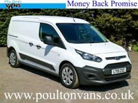 2015 (15) FORD TRANSIT CONNECT 230 L2 LWB 5 SEAT CREW VAN / DOUBLE CAB / COMBI