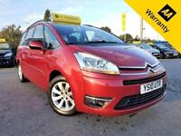 2010 CITROEN C4 PICASSO 1.6 GRAND EXCLUSIVE HDI 107 BHP!P/X WELCOME! 2 OWNERS!