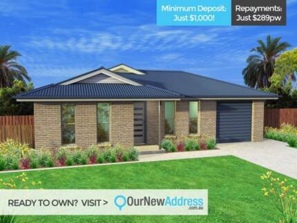 Got $1,000 deposit? Buy your first home in Gracemere!