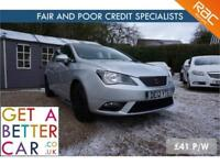 SEAT IBIZA 1.2 SE CR TDI - 12 REG - 41K - £41 PW - FAIR & BAD CREDIT FINANCE