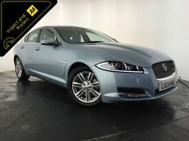 2013 JAGUAR XF LUXURY V6 DIESEL AUTO 237 BHP 1 OWNER SERVICE HISTORY FINANCE PX
