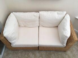 Conservatory 2 seat sofa