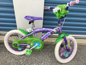"""Huffy 16"""" Tinkerbell bike bicycle for girls"""