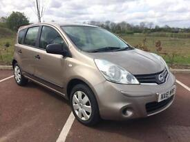 2011/61 Nissan Note NEW SHAPE 1.4i Visia