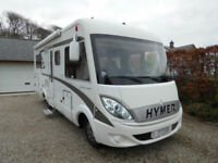 Hymer B575 Starlight LHD Mercedes 3lt with Auto Transmission For Sale