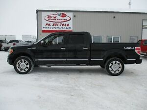 2010 Ford F-150 Platinum Lthr Roof Console Shift 4x4 Low Kms