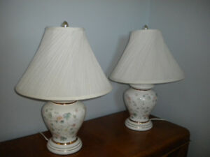 2 Living Room Lamps