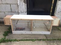 Double breeders cage for £20 look!!!