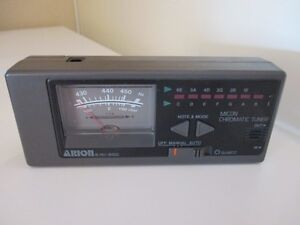 Price reduced again ! Arion Quartz Micon Chromatic Tuner HU-8400 West Island Greater Montréal image 1