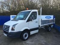 2008 58 Volkswagen Crafter 2.5TDi ( 136PS ) MWB CR35 Tipper Van