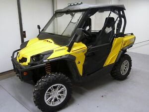 NEW CAN AM COMMANDER HALF DOOR KIT COMPLETE BRP 1000 800 XT X LT