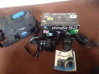 Konica Minolta dynax 5d DSLR camera