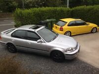 Honda Civic VTI VTEC 1996 4 door saloon