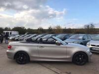 2010 BMW 118D SE CONVERTIBLE FULL SERVICE HISTORY 2 KEYS 2 OWNERS 2.0 DIESEL