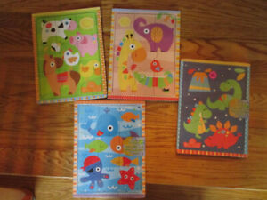 New baby gear - Robeez shoes, blanket, towels,diapers, puzzles,