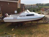 Shetland 535 Suntrip Boat *reduced by £400 need urgent sale*