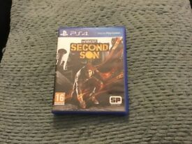 Infamous second son PS4 £10