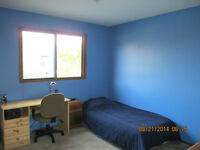 Furnished room for rent. Available Aug. 1/15