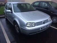 2002 VW GOLF GT TDI 130 6 SPEED