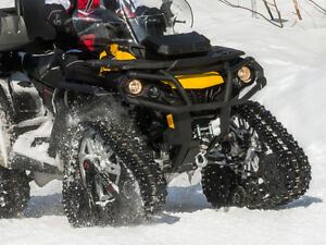 Commander RS4 ATV Track Kit.NEW, Save $400. Polaris, Can-Am