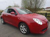 Alfa Romeo Mito 16V LUSSO (red) 2009