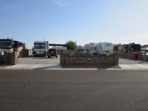 Yuma RV Lot (available Mar 9/19) $350