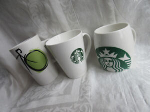 3 starbuck mugs - in great condition -prc firm