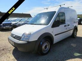 2009 09 FORD TRANSIT CONNECT 1.8 TDCI T230 LWB 90 BHP 75778 MILES NO VAT DIESEL