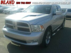 2011 Ram 1500 4whdr  Crew Cab,Short Box,Running Boards,Remote St
