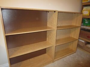 Four Bookcases Strong Adjustable Perfect Condition