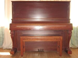 High quality piano with all original ivory keys