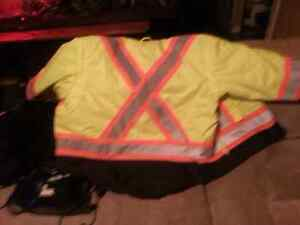 Safety Winter jacket also a vest