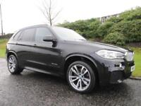 2014 BMW X5 xDrive 40d M Sport 313BHP 4x4 LOW MILEAGE HUGE SPEC .