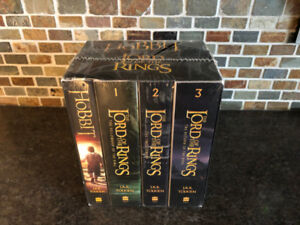 The Lord of The Rings and The Hobbit audio e-reader box set.