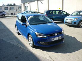 2013 Volkswagen Polo 1.2 ( 70ps ) Match Edition Finance Available