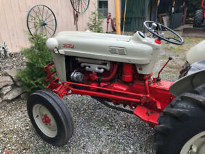 1953 Ford Golden Jubilee Tractor with Plow