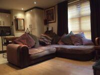 Superb Corner Sofa & Matching 2-Seater