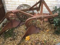 Grey fergy plough (new lower price)