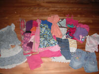 size 3 bundle of girls spring/summer clothes