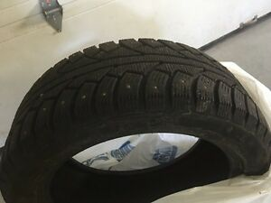 """17"""" studded winter tires 225 / 50r17"""