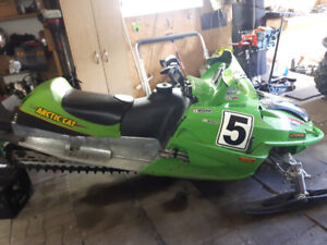 Arctic cat f7 drag champion tsr 3200 ferme