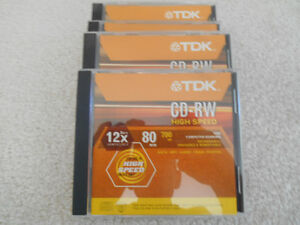 New TDK CDs
