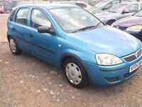 2004/04 Vauxhall/Opel Corsa 1.2i 16v Life FULL MOT EXCELLENT RUNNER