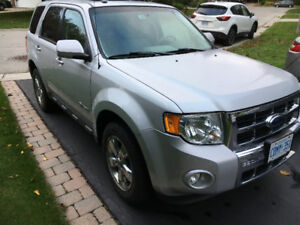 2009 Ford Escape Hybrid Limited NAV SYNC Roof California car